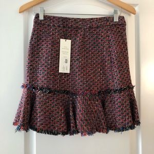 Veronica Beard Madra Tweed Skirt NWT